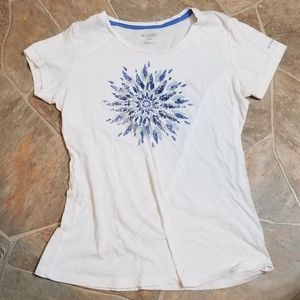 Womens Columbia T-Shirt Size:MED